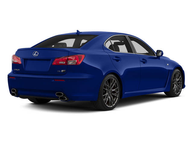 Ultrasonic Blue Mica 2013 Lexus IS F Pictures IS F Sedan 4D IS-F V8 photos rear view