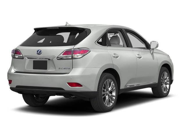 Starfire Pearl 2013 Lexus RX 450h Pictures RX 450h Utility 4D AWD photos rear view