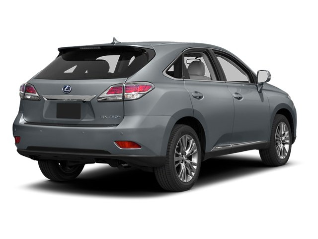 Silver Lining Metallic 2013 Lexus RX 450h Pictures RX 450h Utility 4D AWD photos rear view
