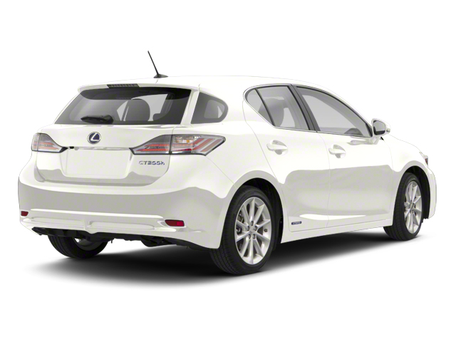 Starfire Pearl 2013 Lexus CT 200h Pictures CT 200h Hatchback 5D CT200h I4 Hybrid photos rear view