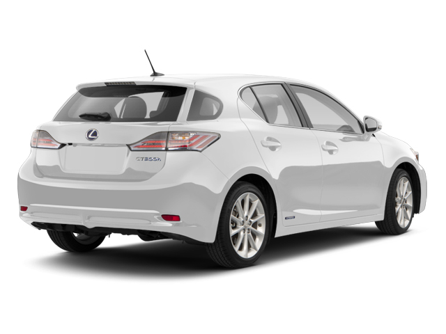 Ultra White 2013 Lexus CT 200h Pictures CT 200h Hatchback 5D CT200h I4 Hybrid photos rear view