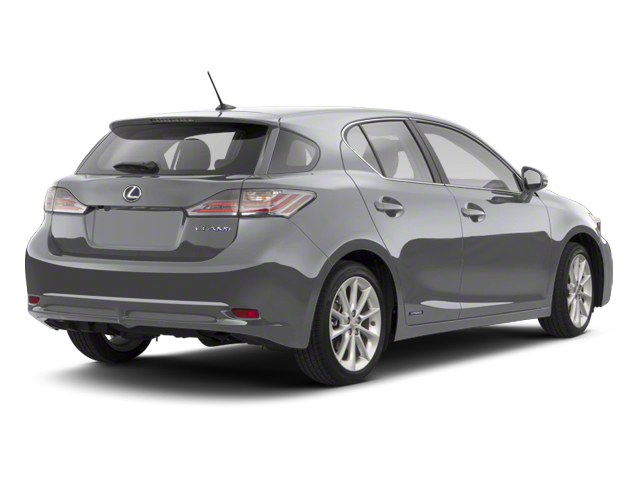 Nebula Gray Pearl 2013 Lexus CT 200h Pictures CT 200h Hatchback 5D CT200h I4 Hybrid photos rear view