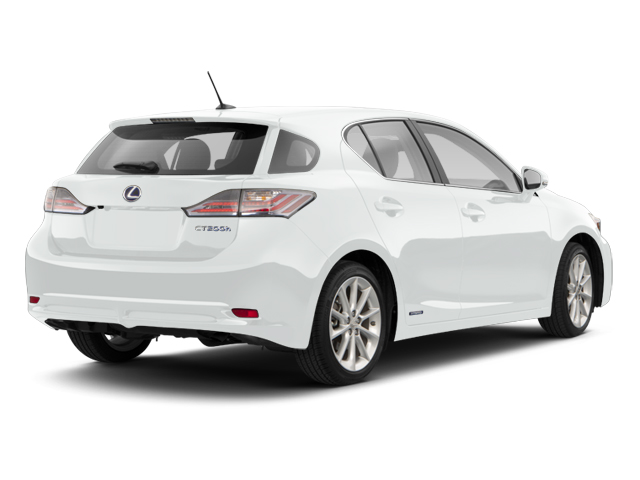 Silver Lining Metallic 2013 Lexus CT 200h Pictures CT 200h Hatchback 5D CT200h I4 Hybrid photos rear view