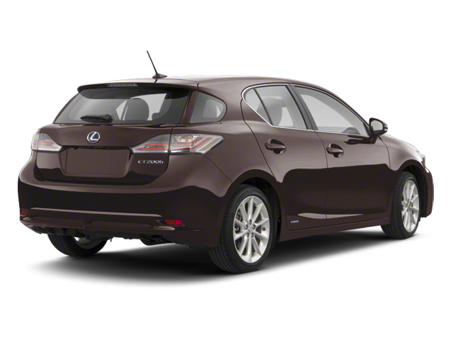 Fire Agate Pearl 2013 Lexus CT 200h Pictures CT 200h Hatchback 5D CT200h I4 Hybrid photos rear view