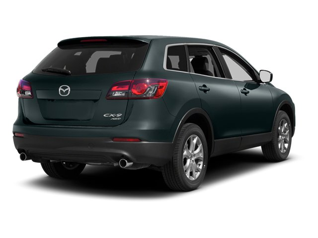 Dolphin Gray Mica 2013 Mazda CX-9 Pictures CX-9 Utility 4D GT AWD V6 photos rear view