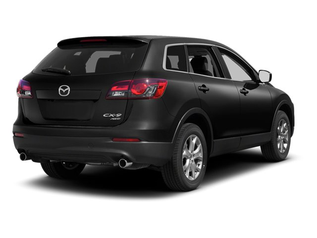 Brilliant Black 2013 Mazda CX-9 Pictures CX-9 Utility 4D GT AWD V6 photos rear view