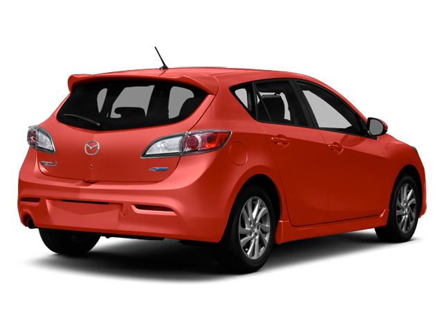 Velocity Red Mica 2013 Mazda Mazda3 Pictures Mazda3 Wagon 5D i Touring I4 photos rear view
