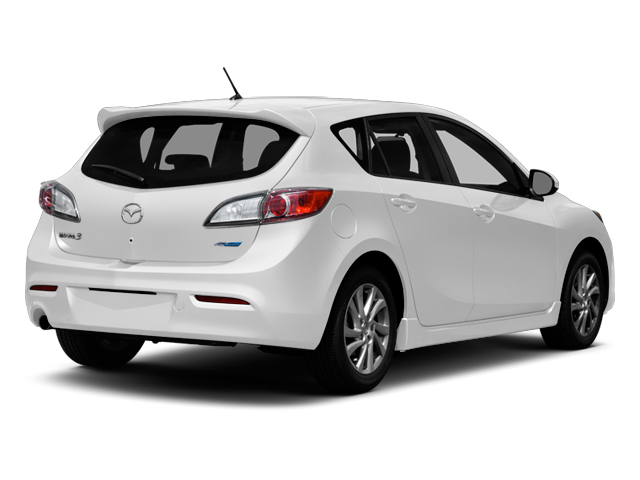 Crystal White Pearl Mica 2013 Mazda Mazda3 Pictures Mazda3 Wagon 5D i Touring I4 photos rear view