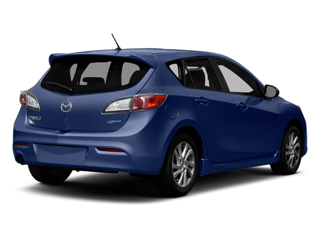 Indigo Lights Mica 2013 Mazda Mazda3 Pictures Mazda3 Wagon 5D i Touring I4 photos rear view