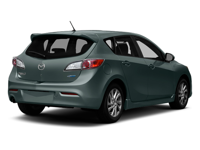 Dolphin Gray Mica 2013 Mazda Mazda3 Pictures Mazda3 Wagon 5D i Touring I4 photos rear view