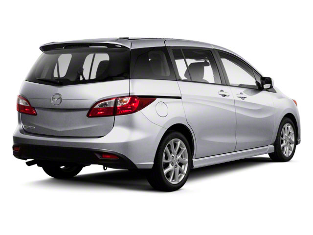 Liquid Silver Metallic 2013 Mazda Mazda5 Pictures Mazda5 Wagon 5D Sport I4 photos rear view