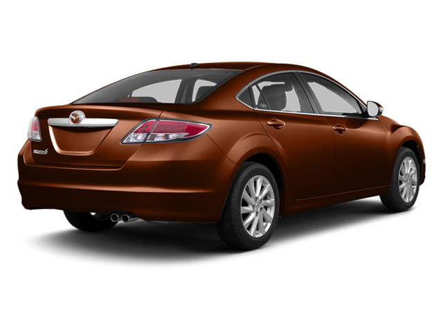 Autumn Bronze 2013 Mazda Mazda6 Pictures Mazda6 Sedan 4D i Touring Plus photos rear view