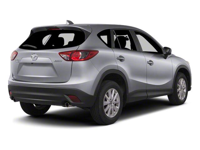 Liquid Silver Metallic 2013 Mazda CX-5 Pictures CX-5 Utility 4D Touring AWD photos rear view