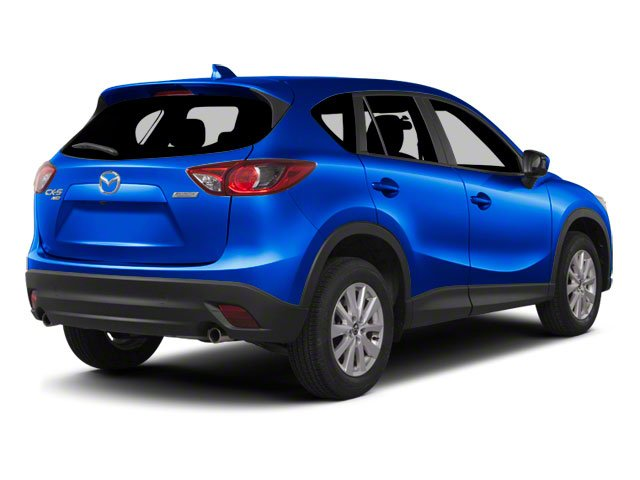 Sky Blue Mica 2013 Mazda CX-5 Pictures CX-5 Utility 4D Touring AWD photos rear view