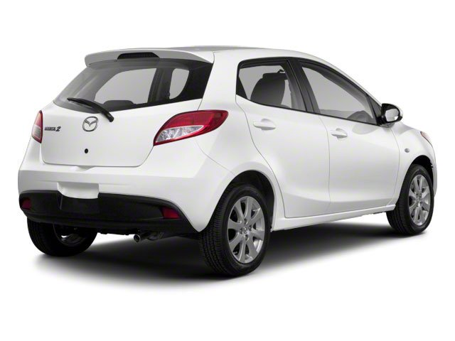Crystal White Pearl 2013 Mazda Mazda2 Pictures Mazda2 Hatchback 5D Touring I4 photos rear view