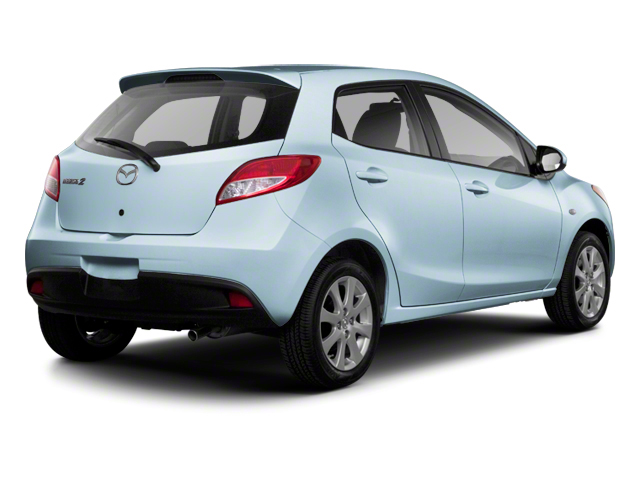 Clear Water Blue Metallic 2013 Mazda Mazda2 Pictures Mazda2 Hatchback 5D Touring I4 photos rear view
