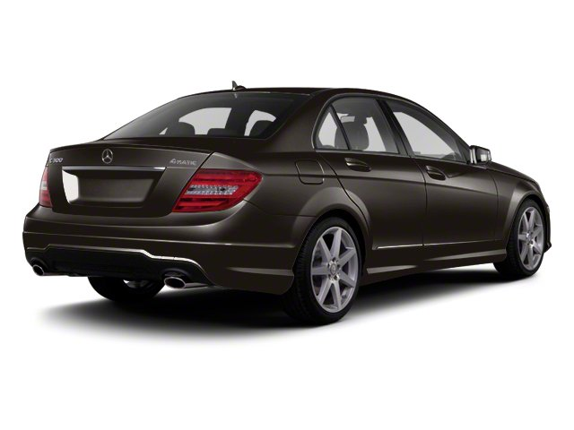 Dolomite Brown Metallic 2013 Mercedes-Benz C-Class Pictures C-Class Sport Sedan 4D C250 photos rear view