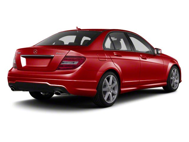 Mars Red 2013 Mercedes-Benz C-Class Pictures C-Class Sport Sedan 4D C250 photos rear view