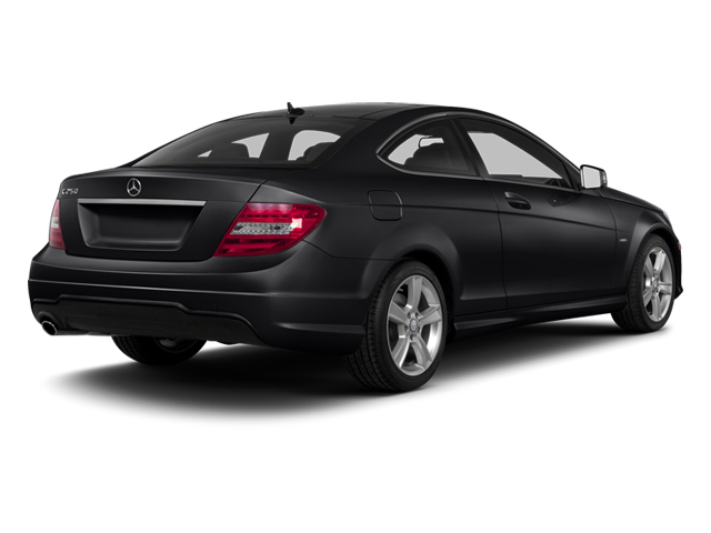 Black 2013 Mercedes-Benz C-Class Pictures C-Class Coupe 2D C250 photos rear view