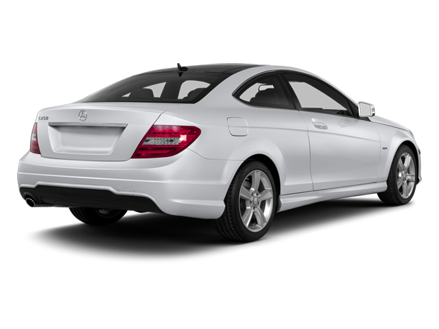 Polar White 2013 Mercedes-Benz C-Class Pictures C-Class Coupe 2D C250 photos rear view