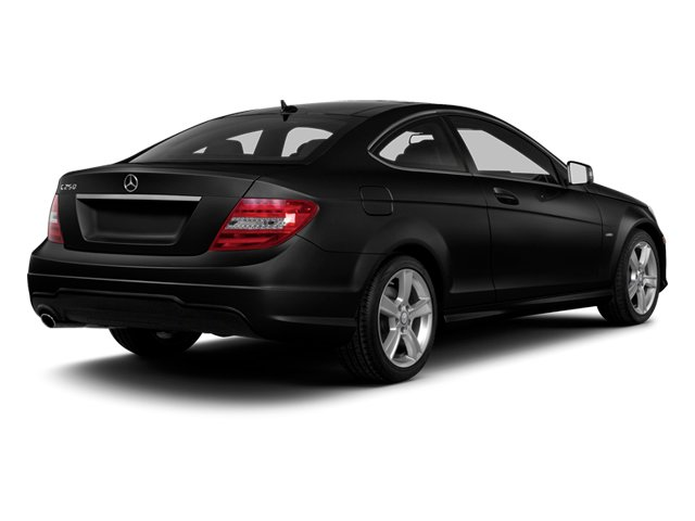 Magnetite Black Metallic 2013 Mercedes-Benz C-Class Pictures C-Class Coupe 2D C250 photos rear view