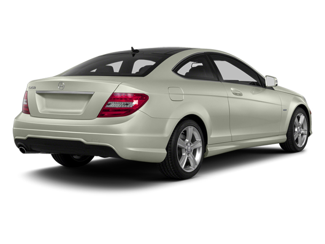 Iridium Silver Metallic 2013 Mercedes-Benz C-Class Pictures C-Class Coupe 2D C250 photos rear view