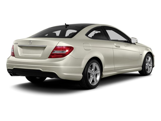 Diamond White Metallic 2013 Mercedes-Benz C-Class Pictures C-Class Coupe 2D C250 photos rear view