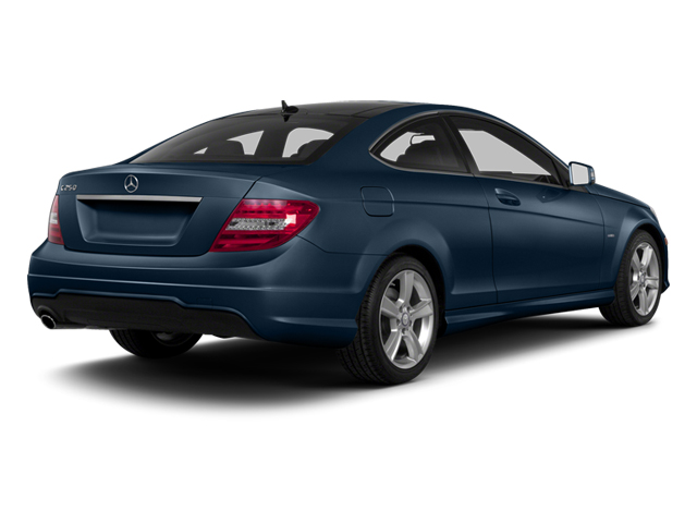 Lunar Blue Metallic 2013 Mercedes-Benz C-Class Pictures C-Class Coupe 2D C250 photos rear view