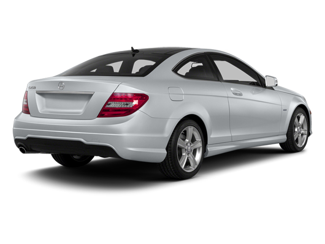 Diamond Silver Metallic 2013 Mercedes-Benz C-Class Pictures C-Class Coupe 2D C250 photos rear view