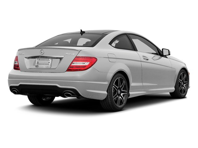 Iridium Silver Metallic 2013 Mercedes-Benz C-Class Pictures C-Class Coupe 2D C350 AWD photos rear view