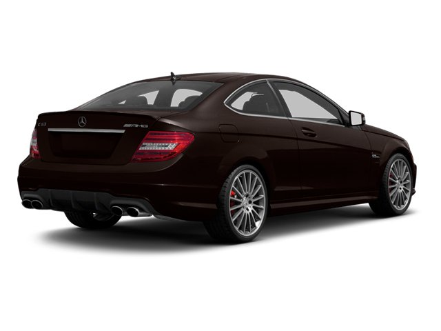 Cuprite Brown Metallic 2013 Mercedes-Benz C-Class Pictures C-Class Coupe 2D C63 AMG photos rear view