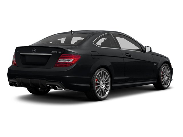 Steel Grey Metallic 2013 Mercedes-Benz C-Class Pictures C-Class Coupe 2D C63 AMG photos rear view