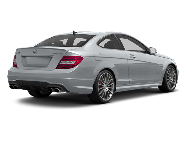 Diamond Silver Metallic 2013 Mercedes-Benz C-Class Pictures C-Class Coupe 2D C63 AMG photos rear view