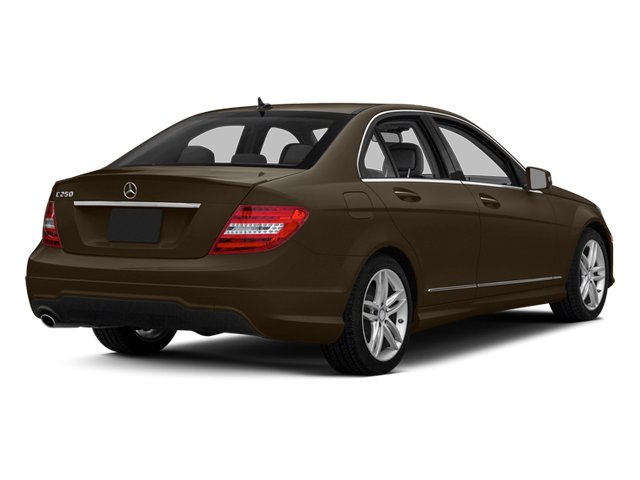 Dolomite Brown Metallic 2013 Mercedes-Benz C-Class Pictures C-Class Sedan 4D C250 photos rear view