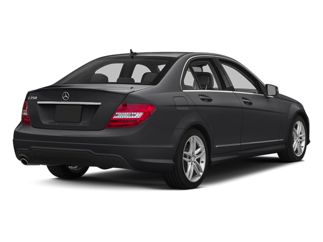 Steel Grey Metallic 2013 Mercedes-Benz C-Class Pictures C-Class Sedan 4D C250 photos rear view