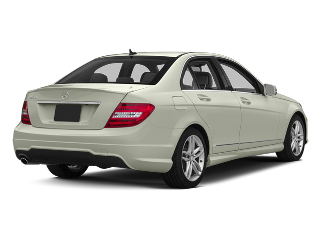 Iridium Silver Metallic 2013 Mercedes-Benz C-Class Pictures C-Class Sedan 4D C250 photos rear view