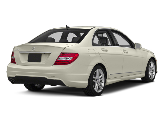 Diamond White Metallic 2013 Mercedes-Benz C-Class Pictures C-Class Sedan 4D C250 photos rear view