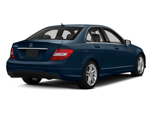 Lunar Blue Metallic 2013 Mercedes-Benz C-Class Pictures C-Class Sedan 4D C250 photos rear view