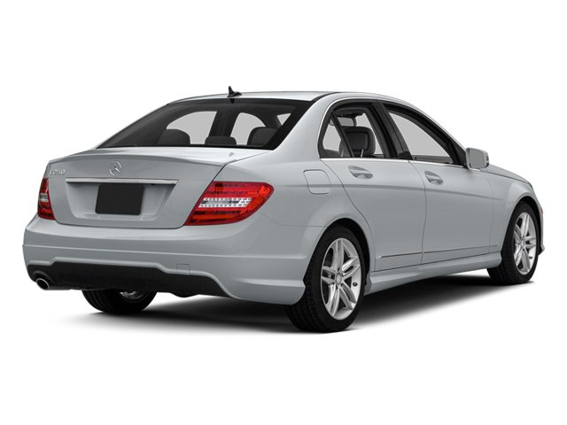Diamond Silver Metallic 2013 Mercedes-Benz C-Class Pictures C-Class Sedan 4D C250 photos rear view