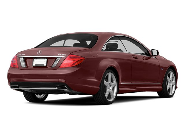 designo Mystic Red Metallic 2013 Mercedes-Benz CL-Class Pictures CL-Class Coupe 2D CL600 photos rear view