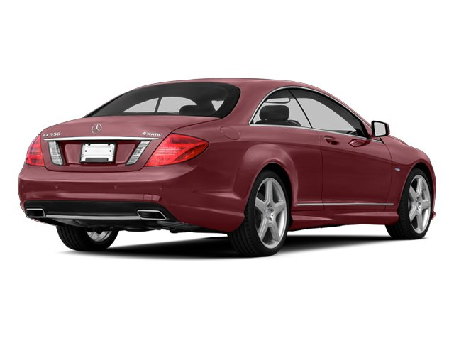 designo Mauritius Red Metallic 2013 Mercedes-Benz CL-Class Pictures CL-Class Coupe 2D CL600 photos rear view
