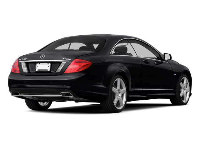 Black 2013 Mercedes-Benz CL-Class Pictures CL-Class Coupe 2D CL600 photos rear view