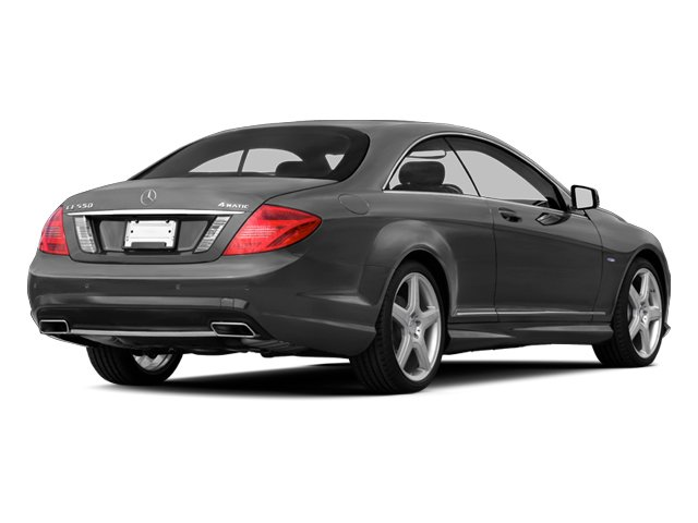 designo Graphite Metallic 2013 Mercedes-Benz CL-Class Pictures CL-Class Coupe 2D CL600 photos rear view