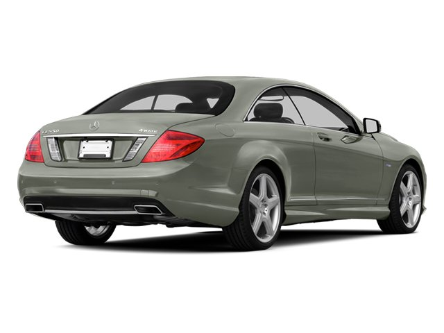 Palladium Silver 2013 Mercedes-Benz CL-Class Pictures CL-Class Coupe 2D CL600 photos rear view