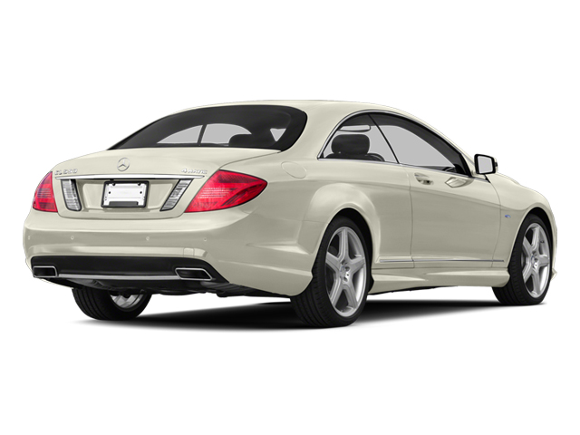 Diamond White Metallic 2013 Mercedes-Benz CL-Class Pictures CL-Class Coupe 2D CL600 photos rear view