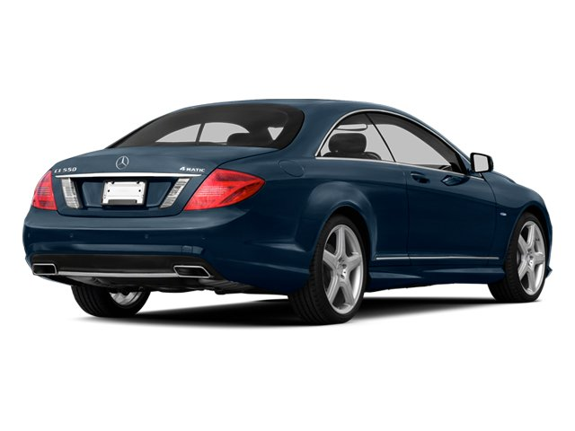 Lunar Blue Metallic 2013 Mercedes-Benz CL-Class Pictures CL-Class Coupe 2D CL63 AMG photos rear view