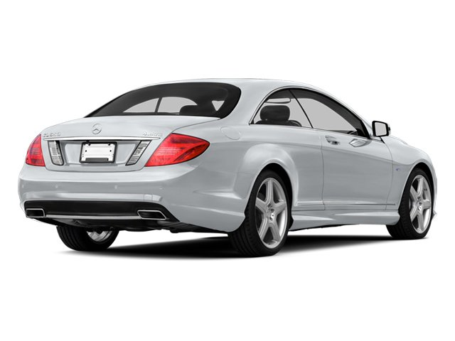Diamond Silver 2013 Mercedes-Benz CL-Class Pictures CL-Class Coupe 2D CL600 photos rear view