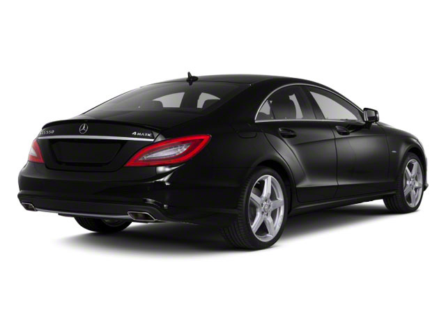Obsidian Black Metallic 2013 Mercedes-Benz CLS-Class Pictures CLS-Class Sedan 4D CLS550 AWD photos rear view