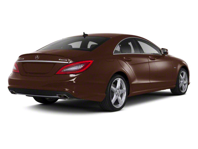 Cuprite Brown Metallic 2013 Mercedes-Benz CLS-Class Pictures CLS-Class Sedan 4D CLS550 AWD photos rear view