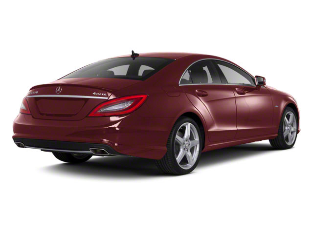 Storm Red Metallic 2013 Mercedes-Benz CLS-Class Pictures CLS-Class Sedan 4D CLS550 AWD photos rear view
